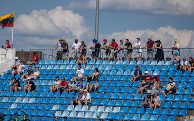 Nuo rugpjūčio 21 d. žiūrovams stadionuose vėl privalomos kaukės