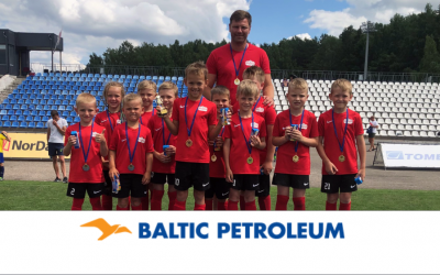 """Baltic Petroleum CUP"" vaikų futbolo turnyras"